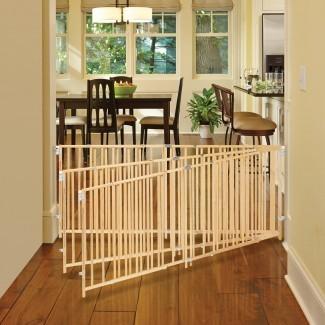 NUEVA puerta abatible de madera extra ancha Supergate del norte ...