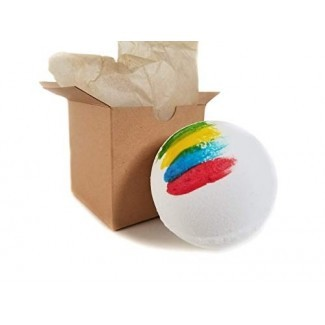 Sorting Hat Bath Bomb Gift - ¡Descubre en qué casa estás! Bomba de baño grande de 6.5 oz (Mystery Color Inside)
