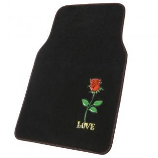 Alfombrillas para alfombras de diseño personalizado, 4 accesorios para automóviles para PC para