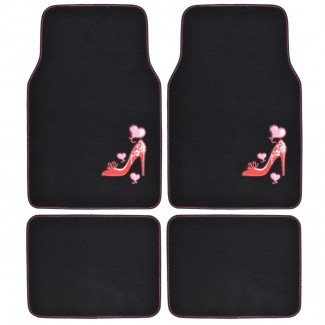 Alfombrillas de alfombra personalizadas, 4 accesorios de PC para niñas
