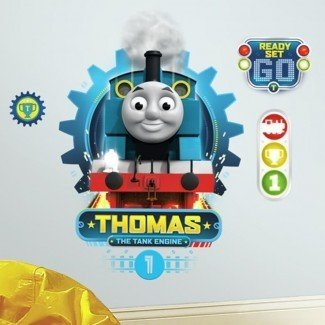 HIT Entertainment Thomas the Tank Engine, etiqueta adhesiva de pared