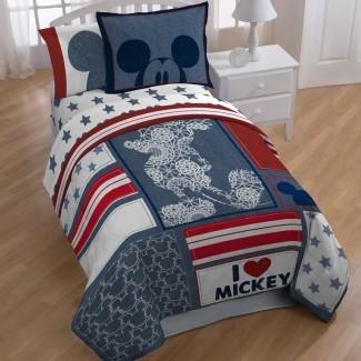 Juego de edredón de 5 piezas Mickey Americana