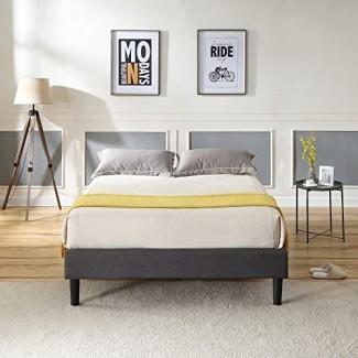 Classic Brands Cama tapizada con plataforma Claridge