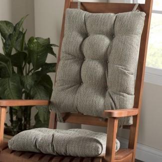 Cojín de silla mecedora de interior