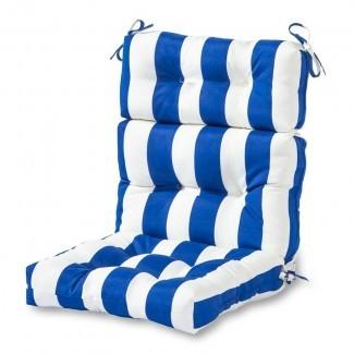 Cojín de silla para salón interior / exterior Sarver
