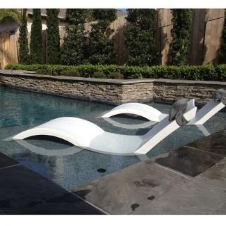 Chaise, Lounge , tumbona, al aire libre, salones, piscina ...