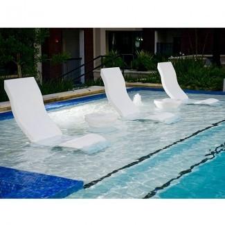 Silla, repisa tumbona, Exterior, Pool, patio ...