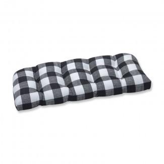 Sofá de sofá / sofá de interior de mimbre de coco Lylah
