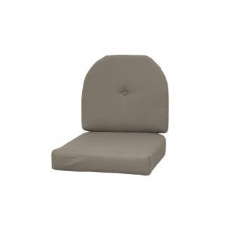 Mimbre interior / exterior Sunbrella R Cojín de silla de bloqueo