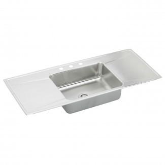Elkay ILR5422DD Lustertone® Sink-ette® con doble ...