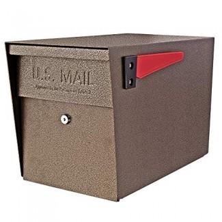 Mail Boss 7106 Buzón de bloqueo de seguridad en la acera (renovado)
