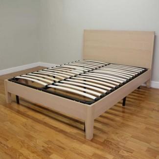 Estructura de cama con plataforma Twin Xl Wood Cama con plataforma Twin Xl