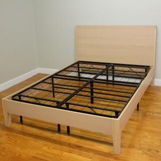 Estructura de la cama con plataforma Twin Xl de madera Plataforma con plataforma Twin Xl