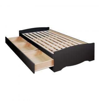Cama de almacenamiento con plataforma Twin XL de 3 cajones y plataforma - $ 292.67