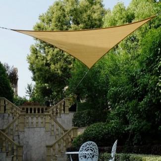 "Vela de sombra triangular de 16'4 ""x 23 '"