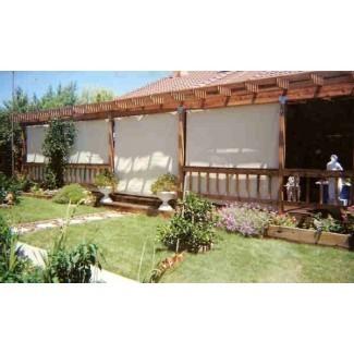 Ahorre en persianas solares Sombrillas para interiores y exteriores para cortinas de patio