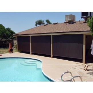 Sombrillas enrollables para patio - Pantalla solar Arizona