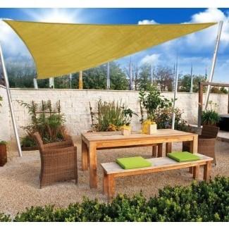 Variedad asequible   Sombrilla para exteriores triangular de 10 'para patio ...