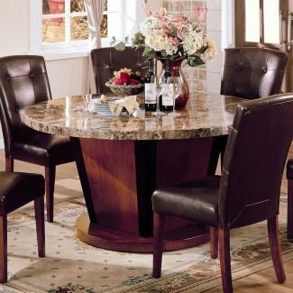 Bolonia 54 pulgadas redonda mesa de comedor Acme muebles ...