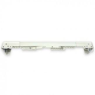 Varilla de cortina transversal abierta de centro de servicio pesado de marfil 66-120 ...