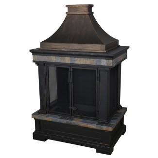 Compre allen + roth Negro y bronce con diseño de pizarra