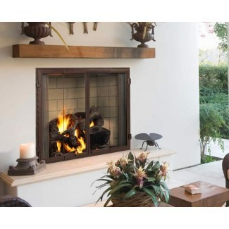 "Chimenea de leña para exteriores Castlewood de 42 ""| Fine's Gas"