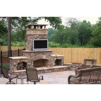 Kits de chimenea, chimeneas para exteriores y pozos | Daco Stone