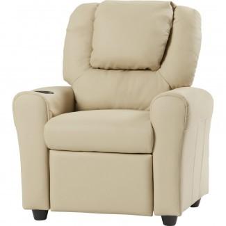 Sillón reclinable para niños personalizado contemporáneo Flash Furniture ...