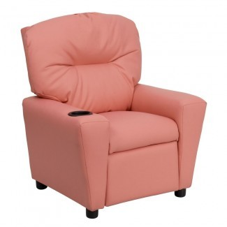 Flash Furniture BT-7950-KID-PINK-GG Contemporary Pink ...