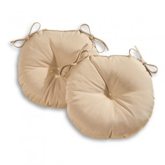 Greendale Home Fashions Silla redonda para bistró para exteriores de 18 pulgadas ...