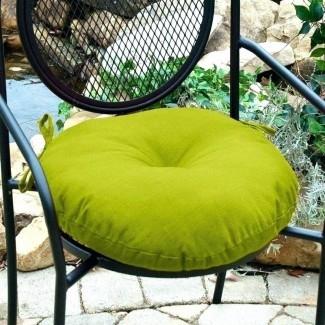 Cojines para sillas redondos para exteriores