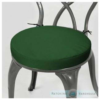 Cojín redondo para silla de jardín SOLO Impermeable para exteriores ...