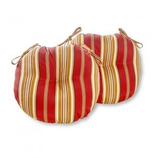 Greendale Home Fashions Silla redonda para bistró para exteriores de 15 pulgadas ...