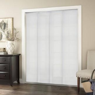 """Paneles deslizantes ajustables de primera calidad, persianas verticales cortadas a medida, hasta 80 """"de ancho x 96"""" de alto"""