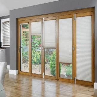 Persianas verticales para puertas corredizas de vidrio Persianas de desvío ...