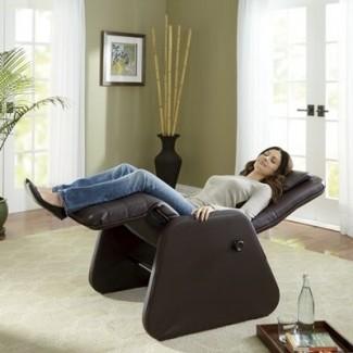 Ideas de sillas de gravedad cero para interiores | Diseño de la silla Myhappyhub