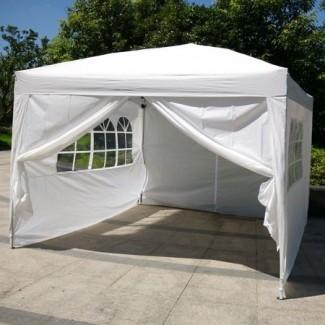Carpa de estacionamiento Ktaxon 10'x10 'EZ Pop UP Wedding Party ...