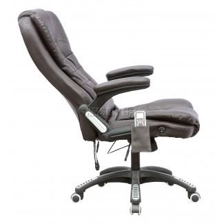 FoxHunter 8025 Cuero Computadora de oficina de masaje de 6 puntos ...