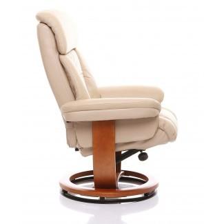 25 ideas de sillas giratorias reclinables de cuero con hueso de Amala ...