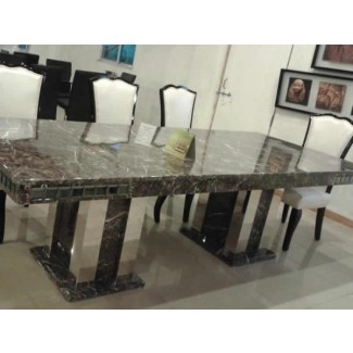 Granite Dining Table 8 Chairs - mesa de granito con