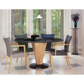 Mesa de comedor moderna | Mesa de comedor redonda de piedra | Granito