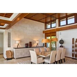 15 impresionantes mesas de comedor de granito superior | Home Design