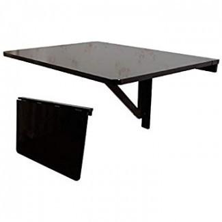 Mesa de hoja abatible montada en la pared, mesa de comedor plegable ...