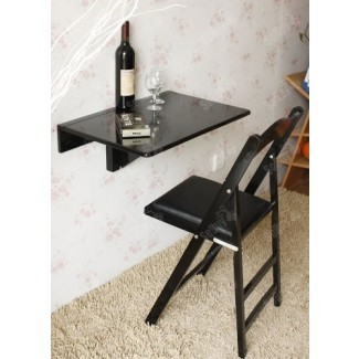 Mesa abatible haotiana de pared abatible, cocina plegable ...