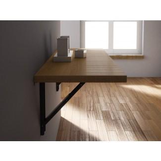 Mesa de madera abatible suspendida de madera VULCANO by CANCIO