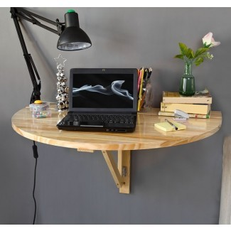 SoBuy® Mesa abatible de pared abatible, Mesa plegable de madera ...