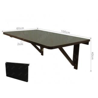 SoBuy® Plegable Mesa abatible de pared Mesa de hoja, estante de pared ...
