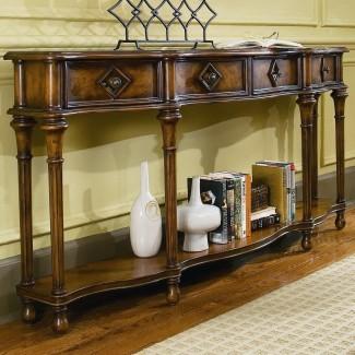 Cofres y consolas para muebles Hooker Consola de pasillo de 72 pulgadas ...