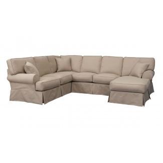 Muebles: Sofá seccional con cubierta bonita para el cómodo ...