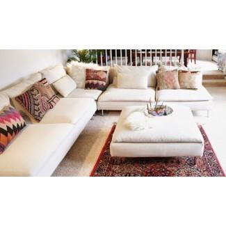 Cubiertas para el sofá seccional Klaussner Jenny Slip Cover ...